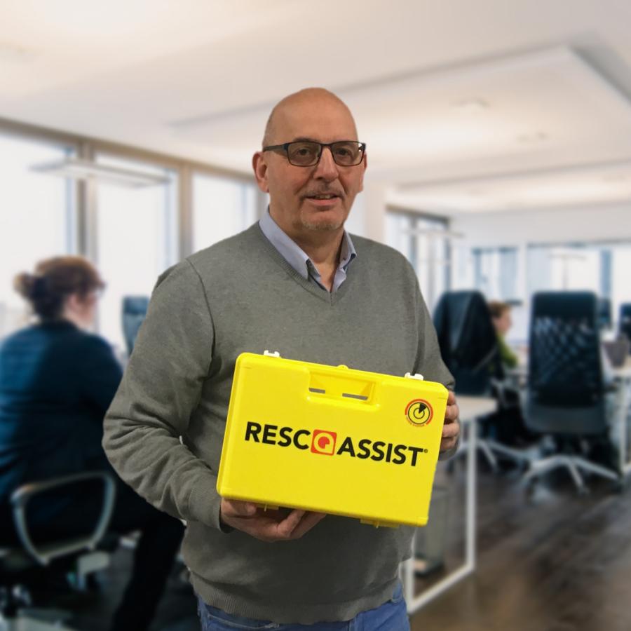 RescQAssist Ehbo-koffer wijst de weg naar de juiste hulp ingeval van calamiteiten